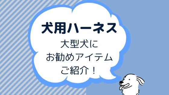 【ハーネス】ゴールデンレトリバーなど大型犬にお勧め10選!